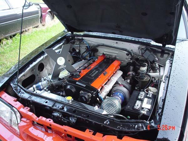 Mustang With Rb25det Engine Swap Depot